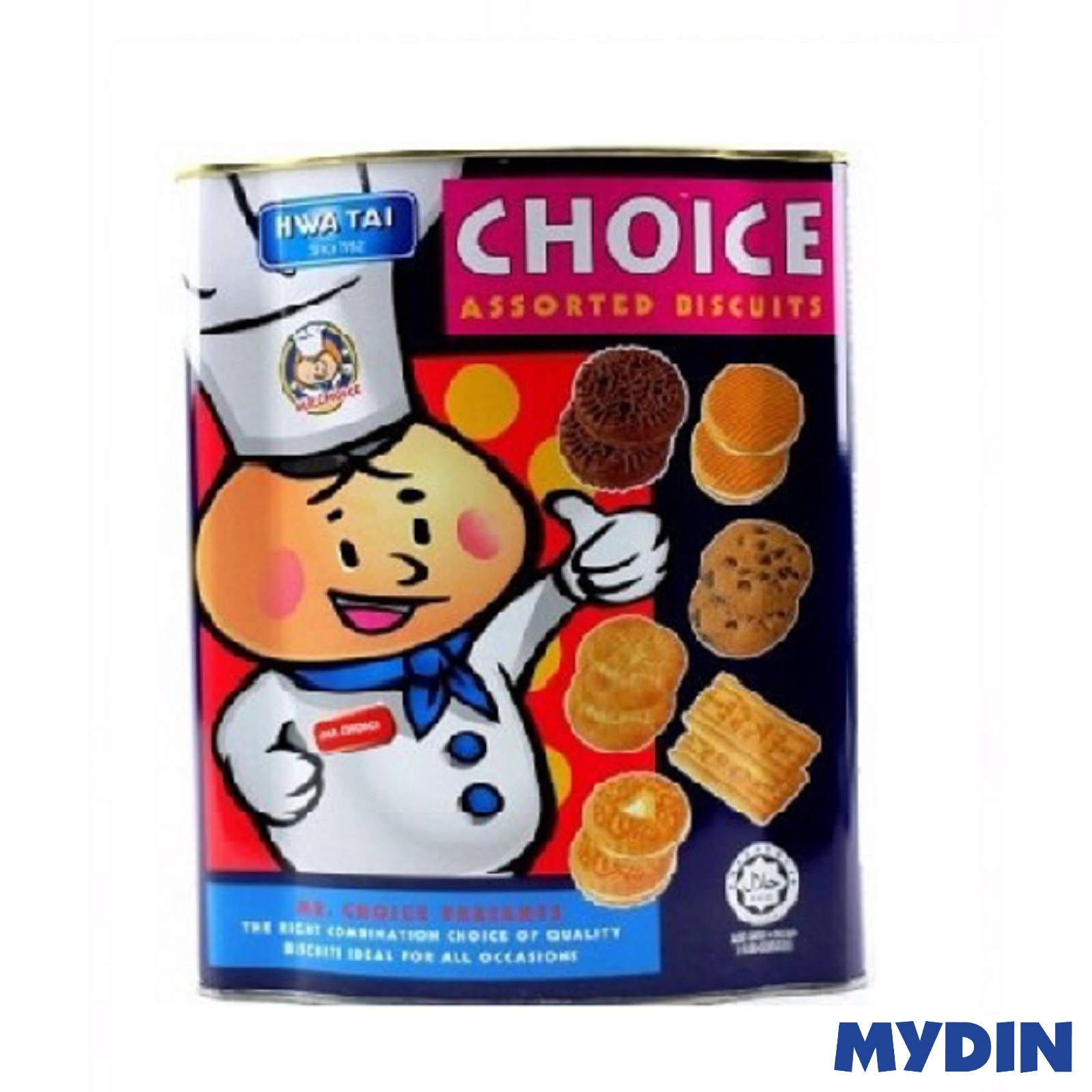 Hwa Thai Choice Biscuit Assorted (600g)