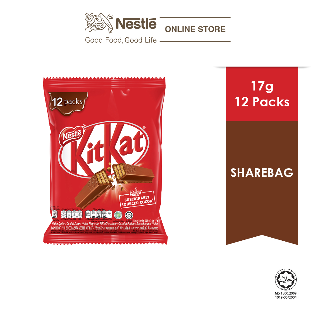 Nestle KITKAT 12 (17g Each)