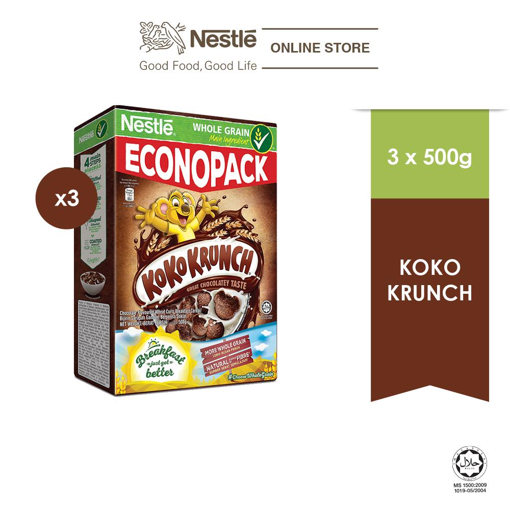 KOKO KRUNCH Cereal 500g x 3 box