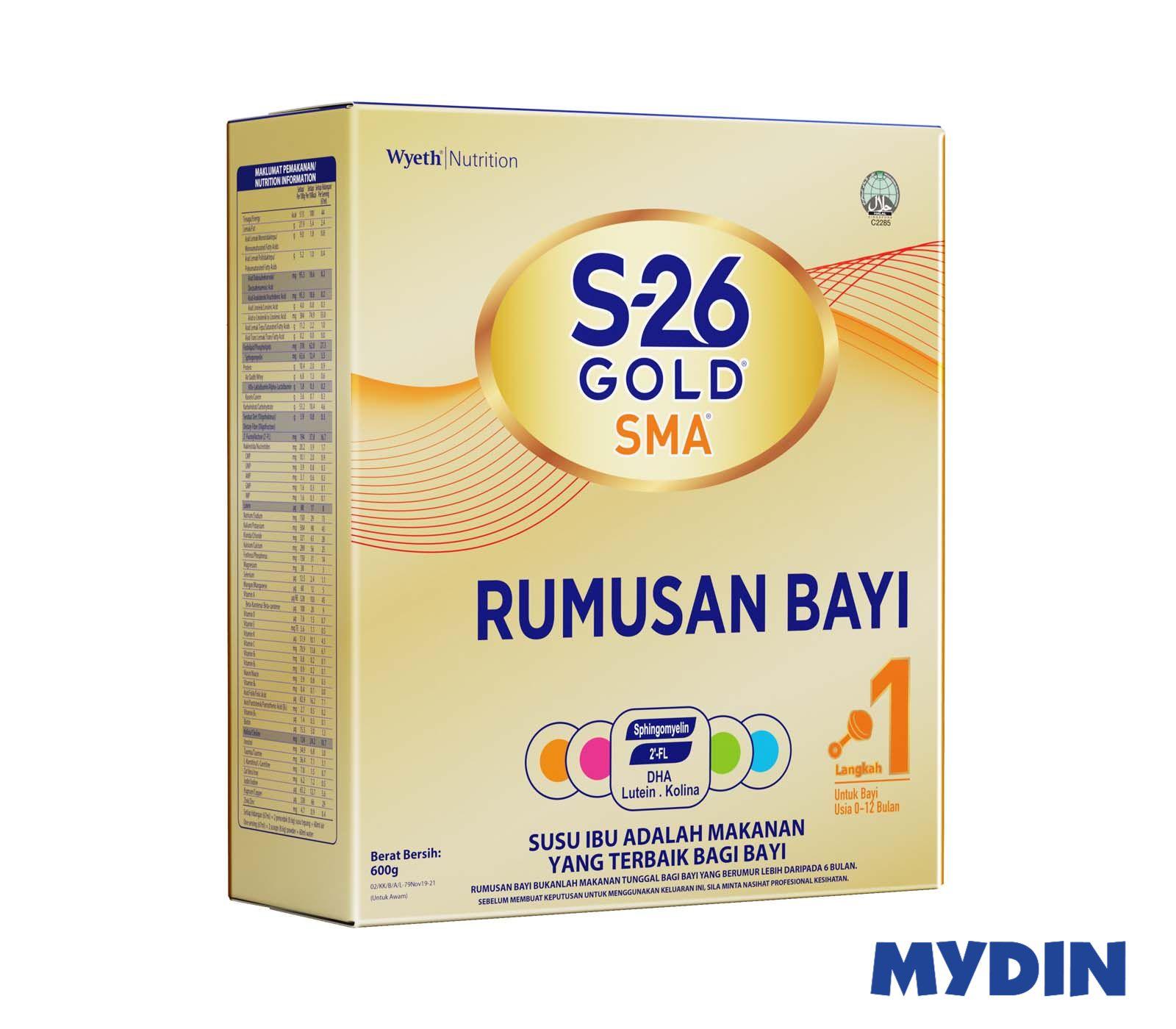S26 Gold SMA Step 1 (600g)