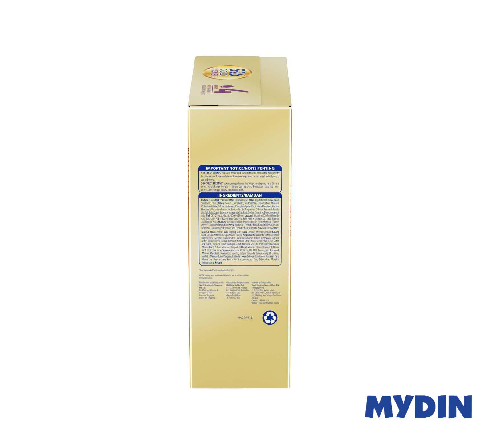 Wyeth S26 Gold Promise Step 4 (600g)