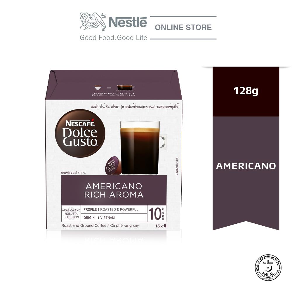 NESCAFÉ Dolce Gusto Americano Rich Coffee 16Capsules x128g