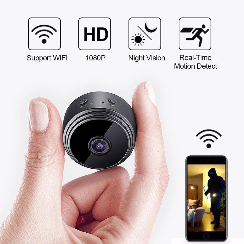 Wireless camera ultra-high-definition night vision connection mobile phone remote WiFi monitor home