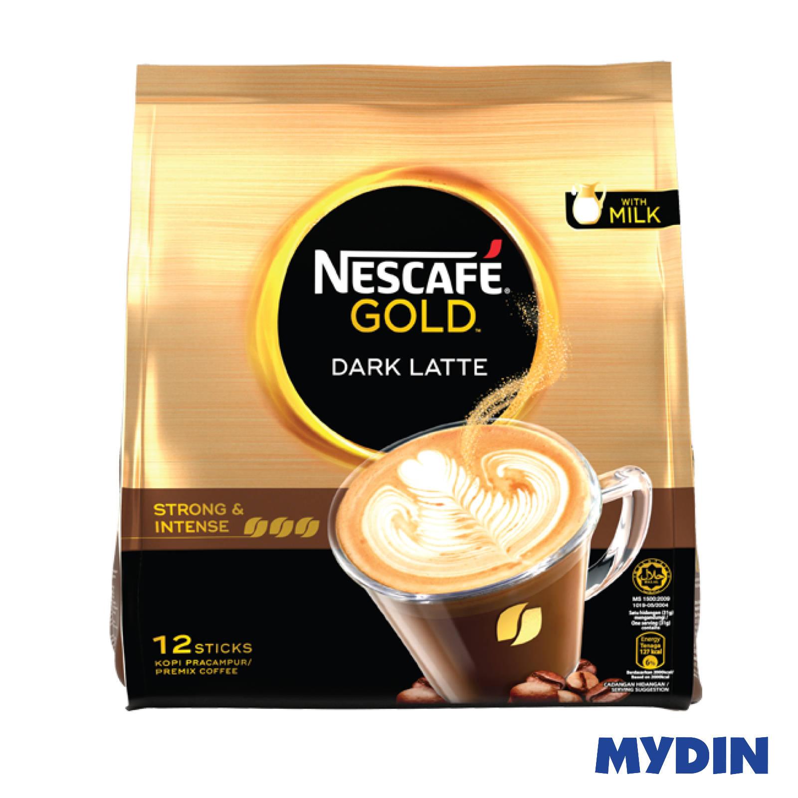 Nescafe Gold Dark Latte (12 x 31g)