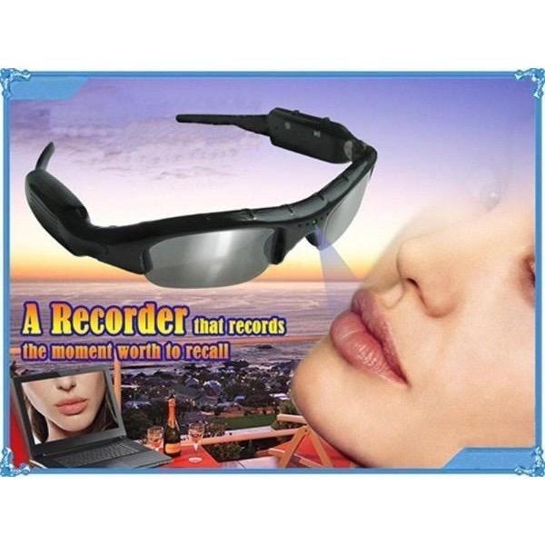 Mobile eyewear recorder (camera for hidden)