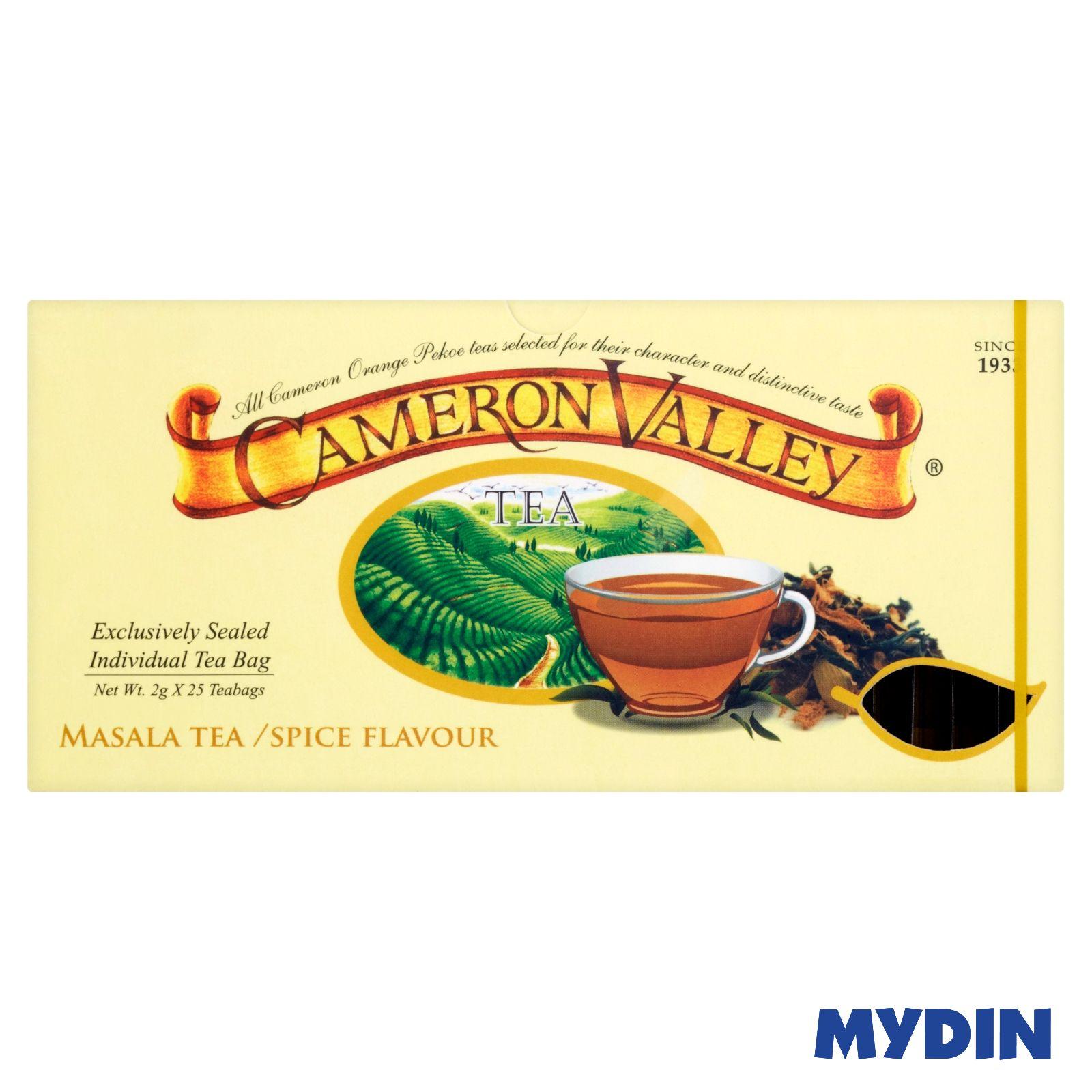 Cameron Valley Tea (25 x 2g) Masala