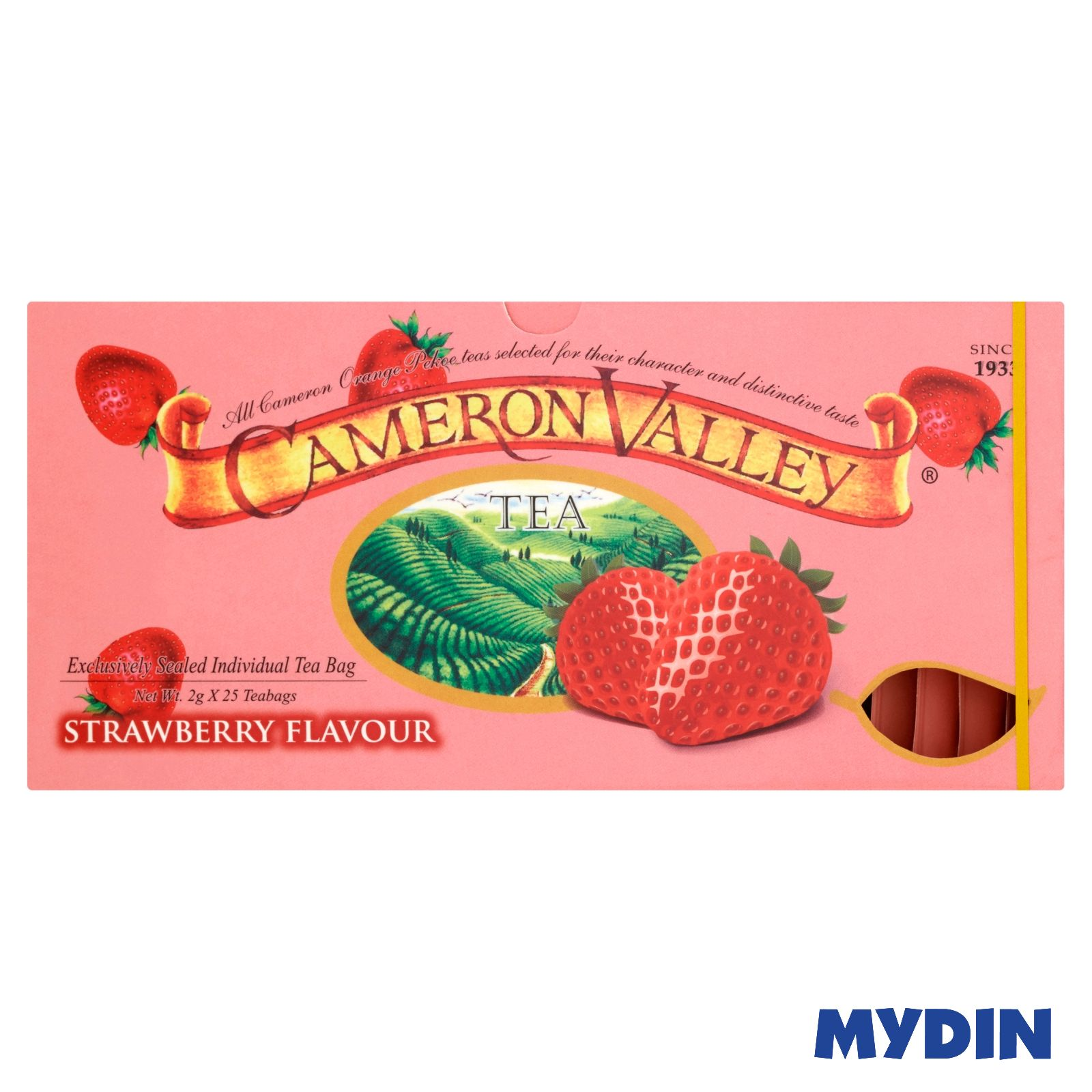 Cameron Valley Tea (25 x 2g) Strawberry