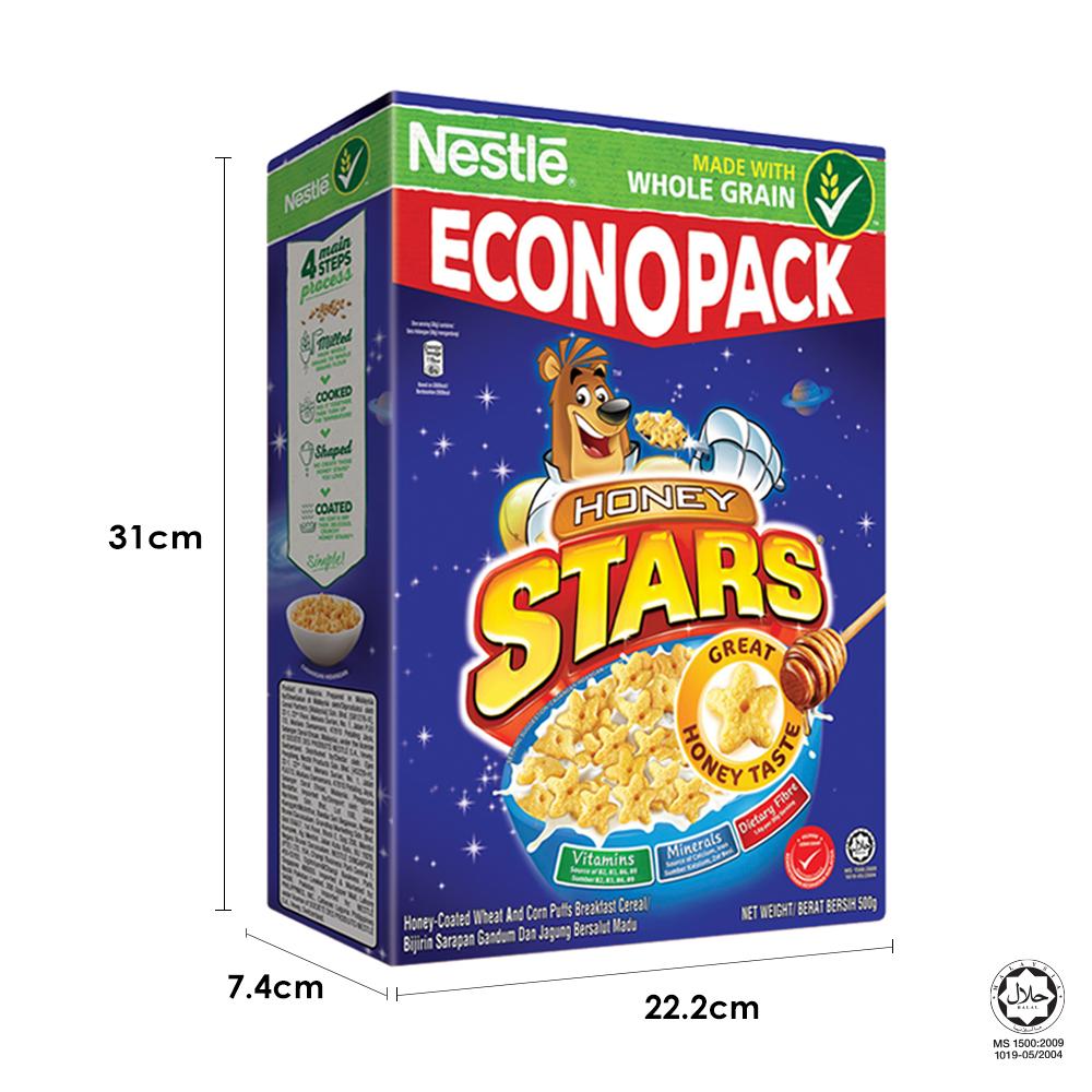 NESTLÉ HONEY STAR Econopack 500g FREE KOKO Mini Box