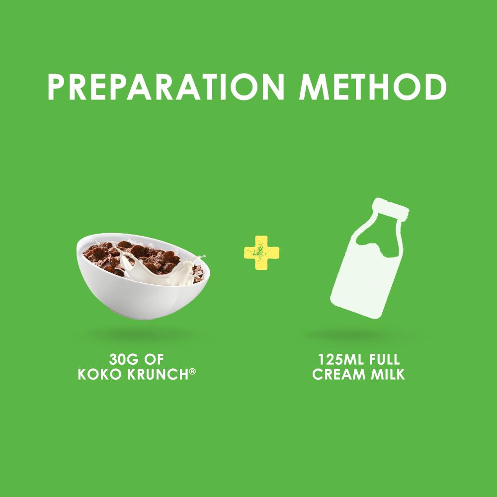 NESTLÉ KOKO KRUNCH Cereal Econopack 500g FREE KOKO Mini Box, x3 boxes