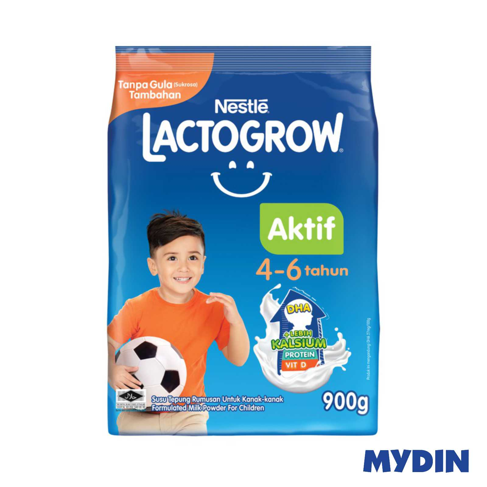 Nestle Lactogrow Aktif 4-6 (900g)