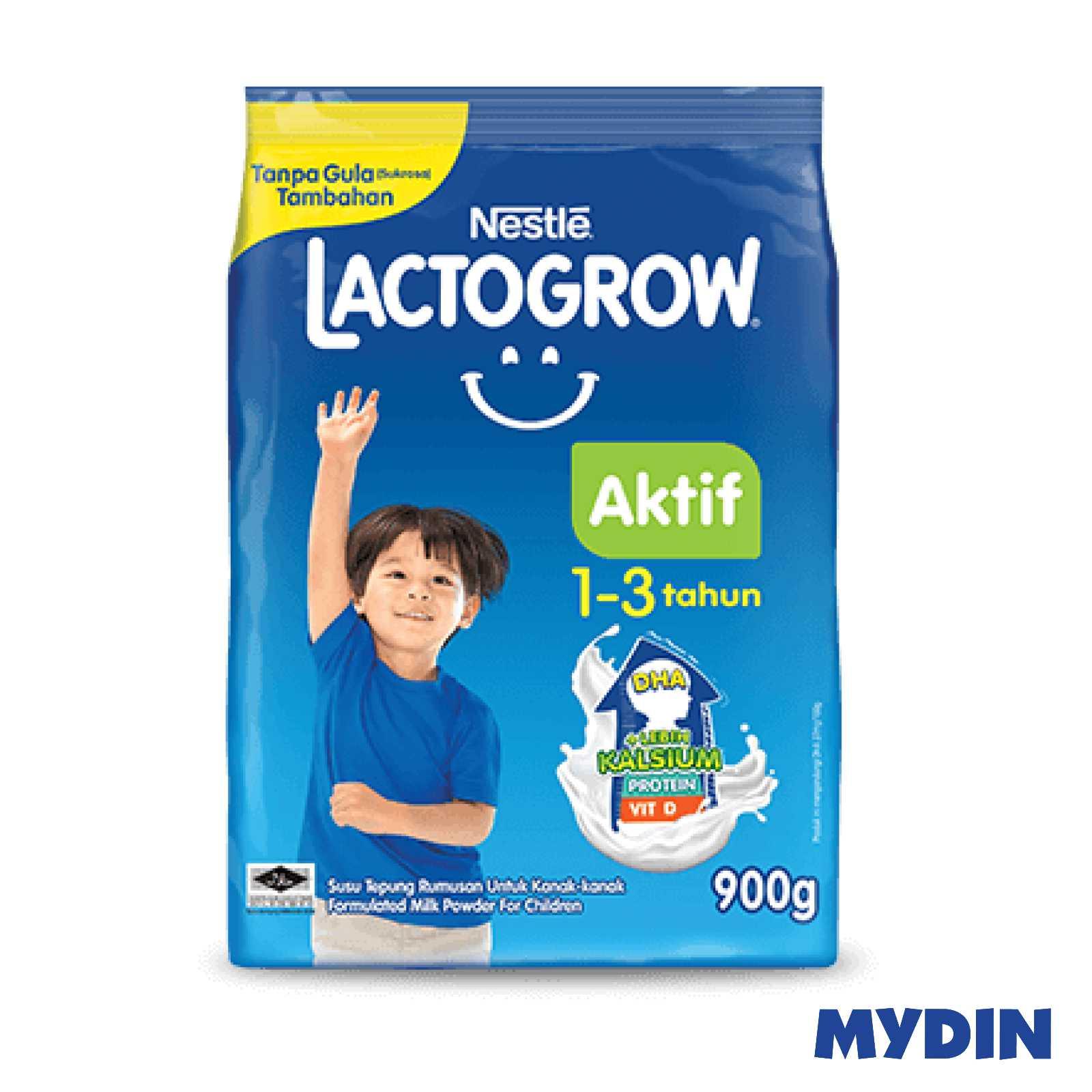 Nestle Lactogrow Aktif 1-3 (900g)