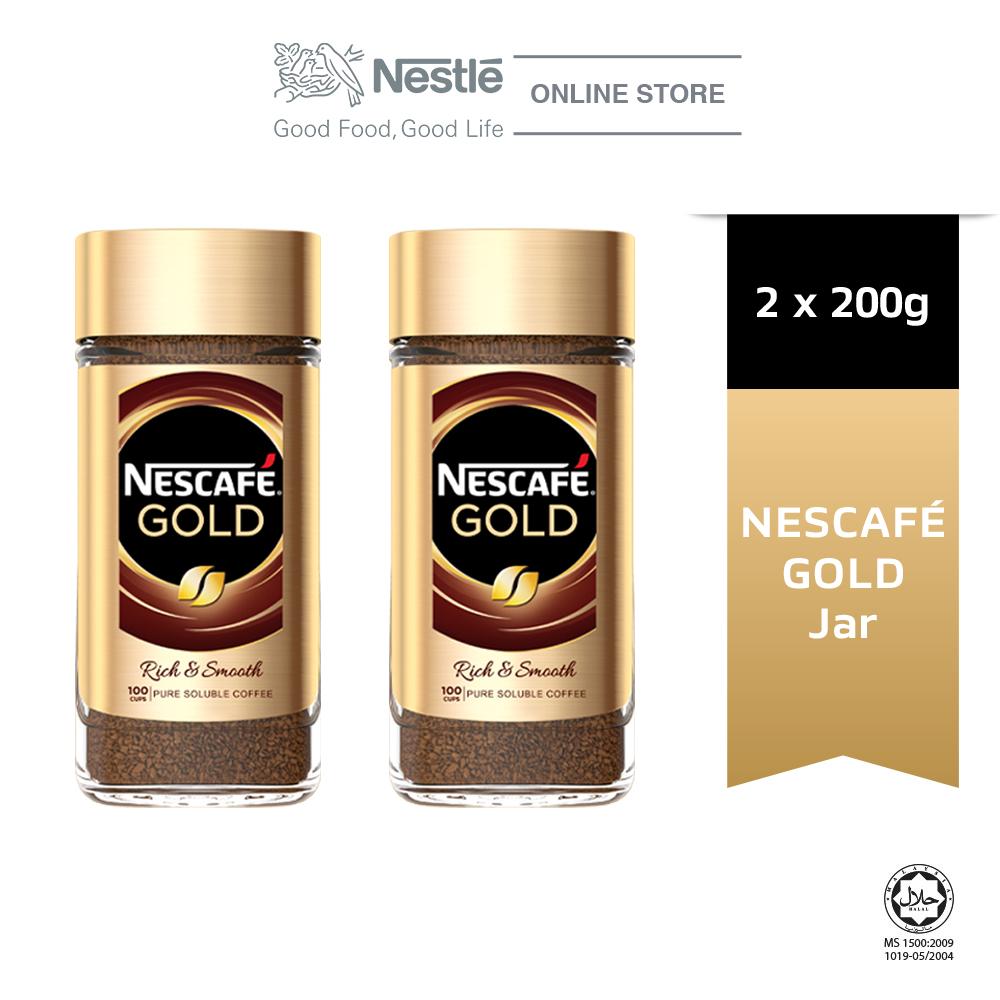 Nescafe Signature Gold Jar 200g x2 jars