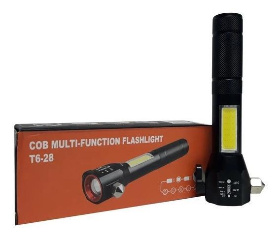 COB Multi-Function Flashlight T6-28