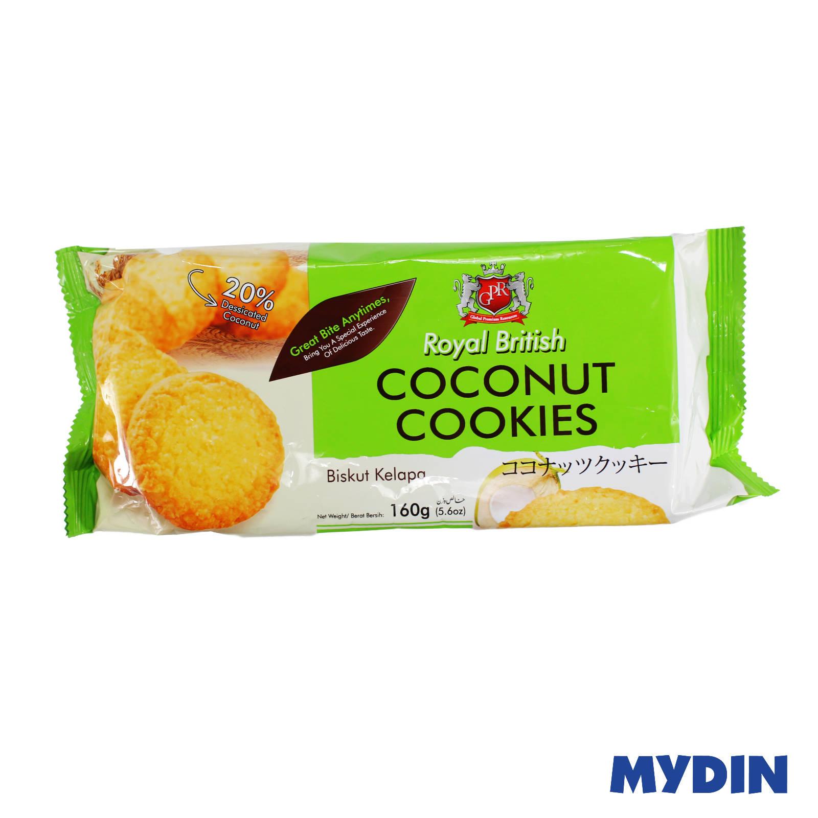 GPR Royal British Coconut Cookies 160g