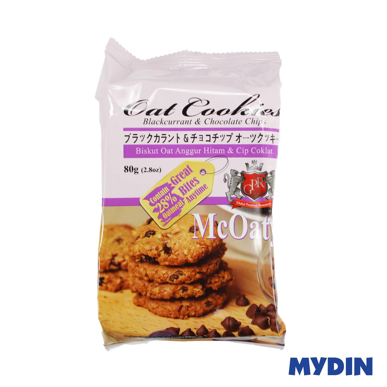 GPR McOaty Blackcurrant & Chocolate Chips Oat Cookies 80g