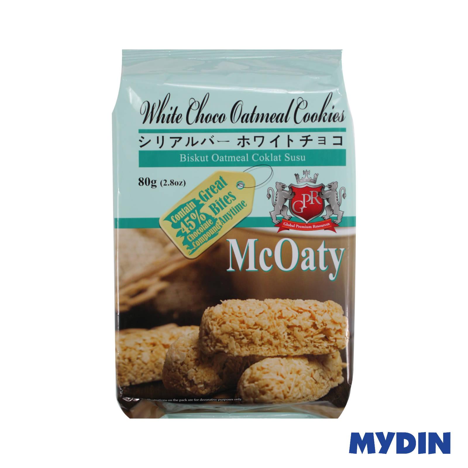 GPR McOaty White Choco Oatmeal Cookies 80g