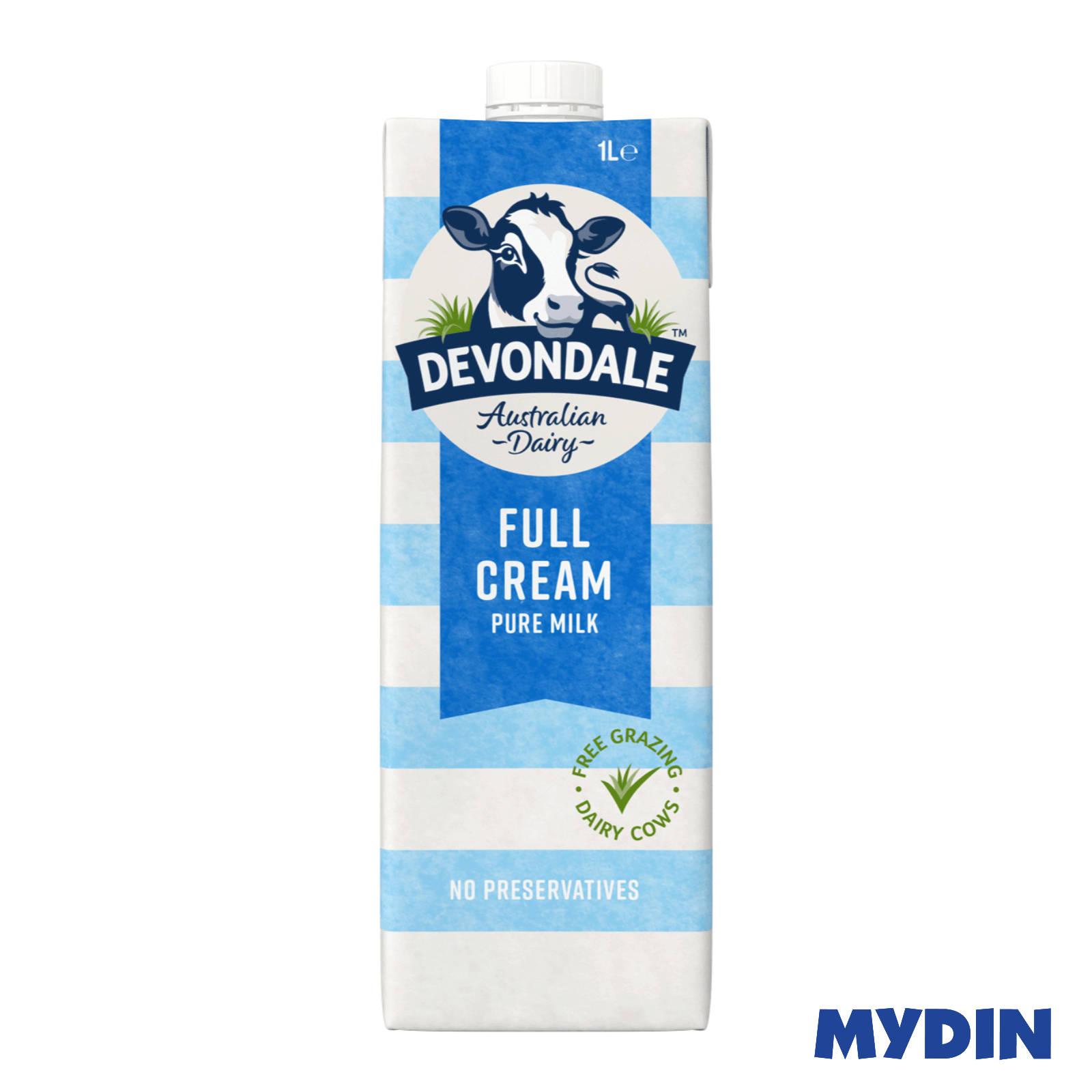 Devondale UHT Full Cream Milk (1L)