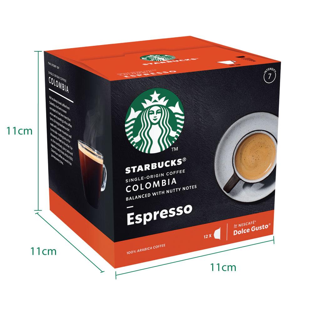 STARBUCKS Espresso Colombia 12 Cap 66g x 2 boxes, Free Mug