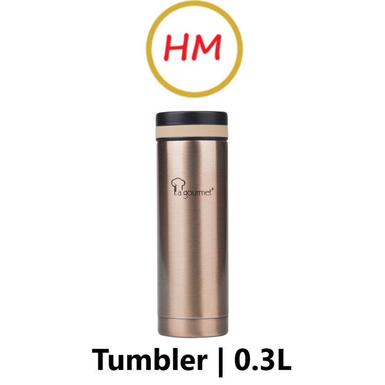 La Gourmet Galaxy 0.3L Thermal Tumbler - Champagne Gold