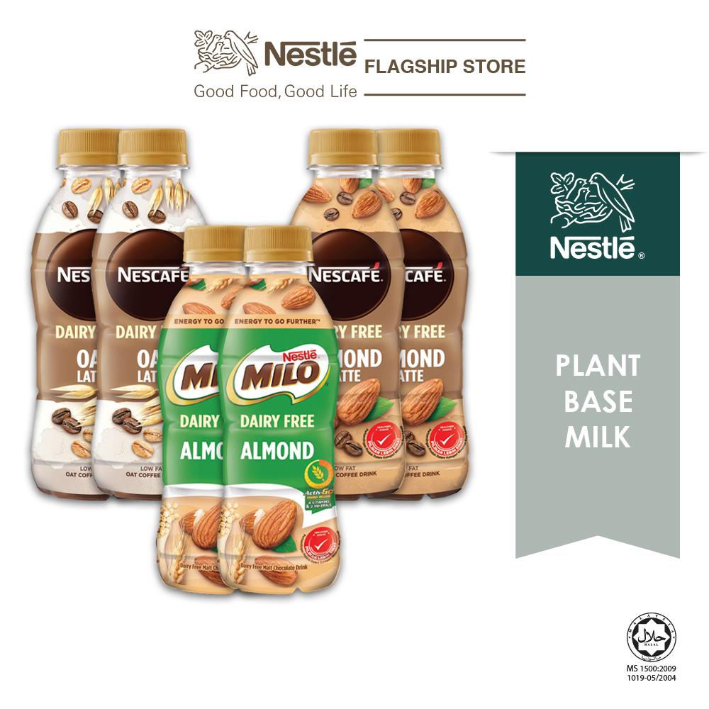 Nestle Dairy Free Mix Flavour Bundle PET 225ml (Plant Based), x2 bundle