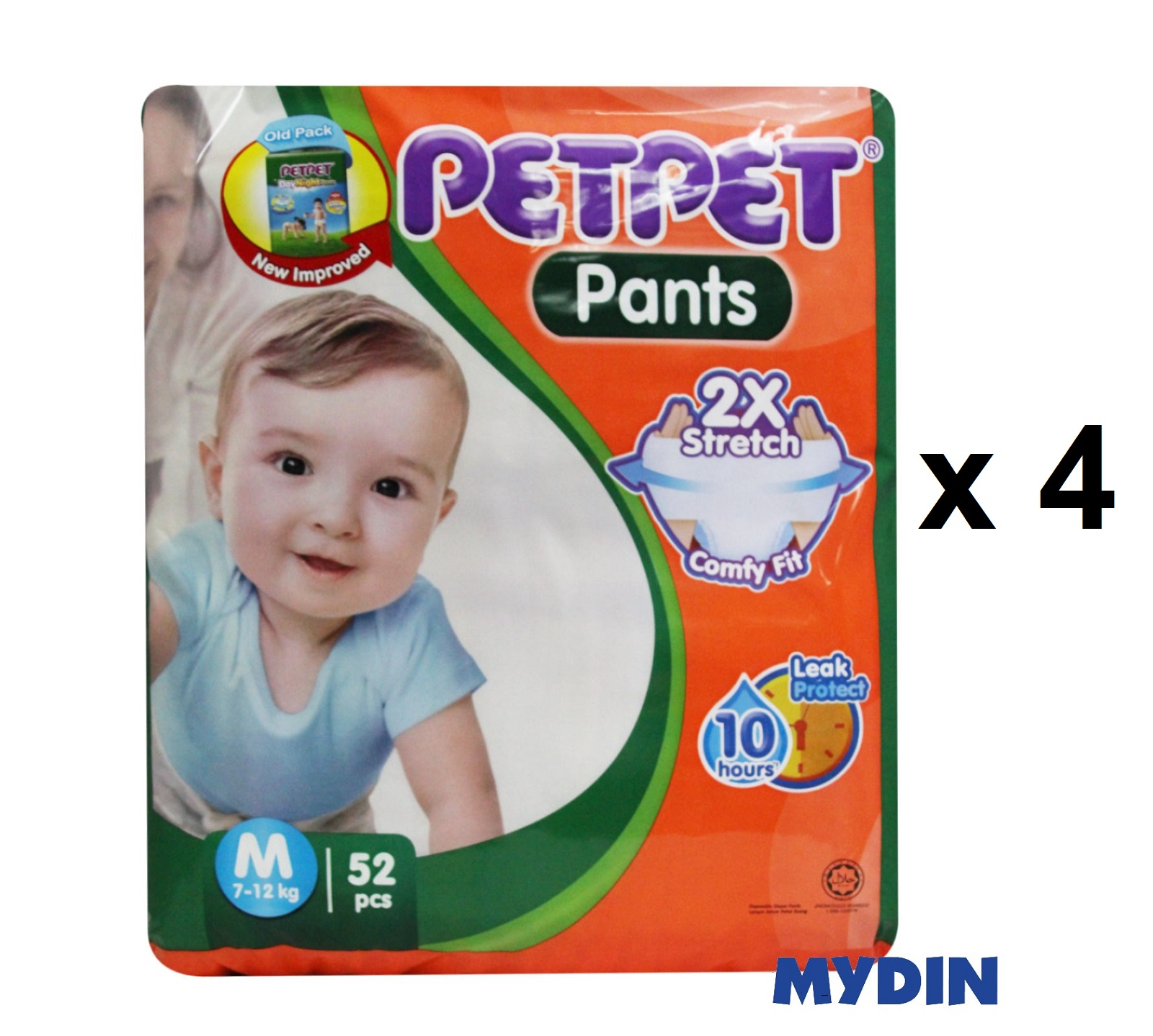 Pet Pet Pants Jumbo M52 (4 Packs)