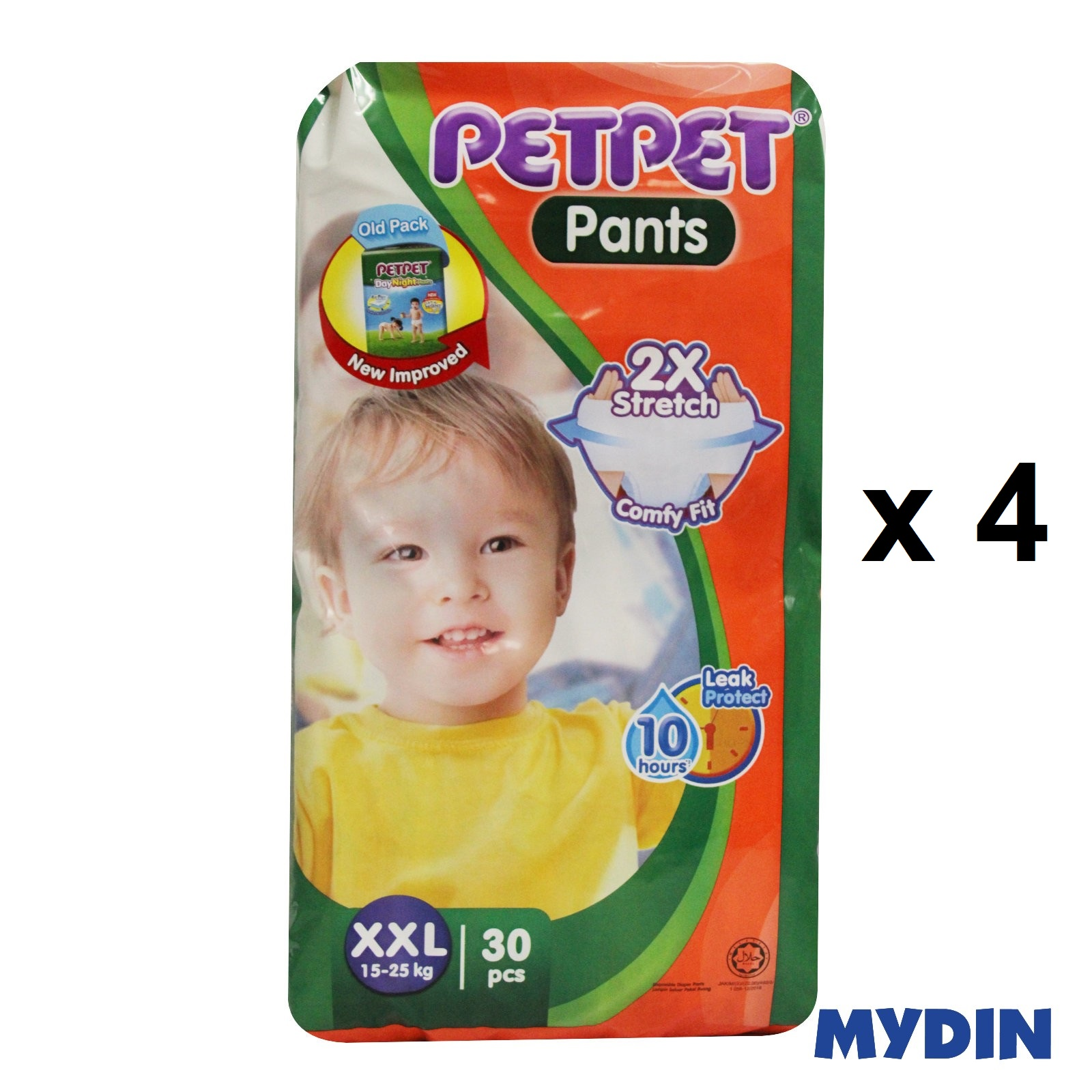 Pet Pet Pants Jumbo XXL30 (4 Packs)