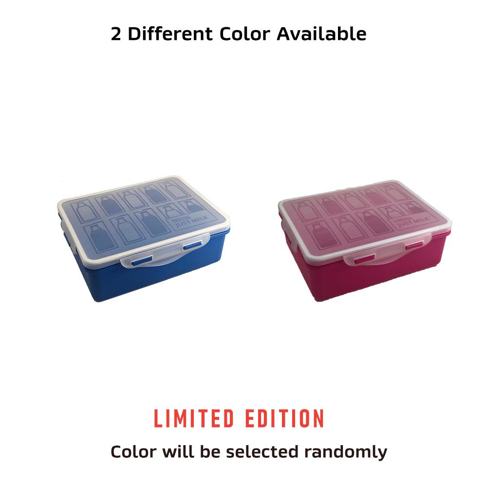 NESTLÉ JUST MILK™ Full Cream 1L & KOKO KRUNCH ECONO 500g, Free Lunch Box