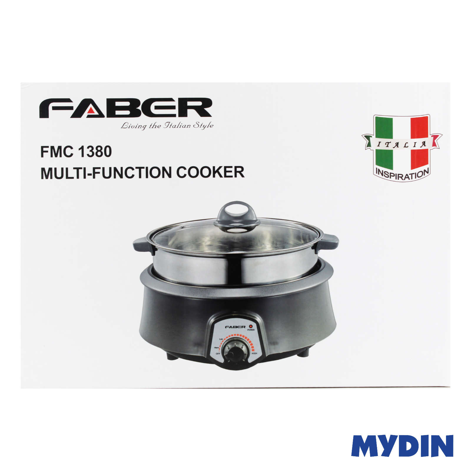 Faber Multicooker With Steamer 4L FMC 1380