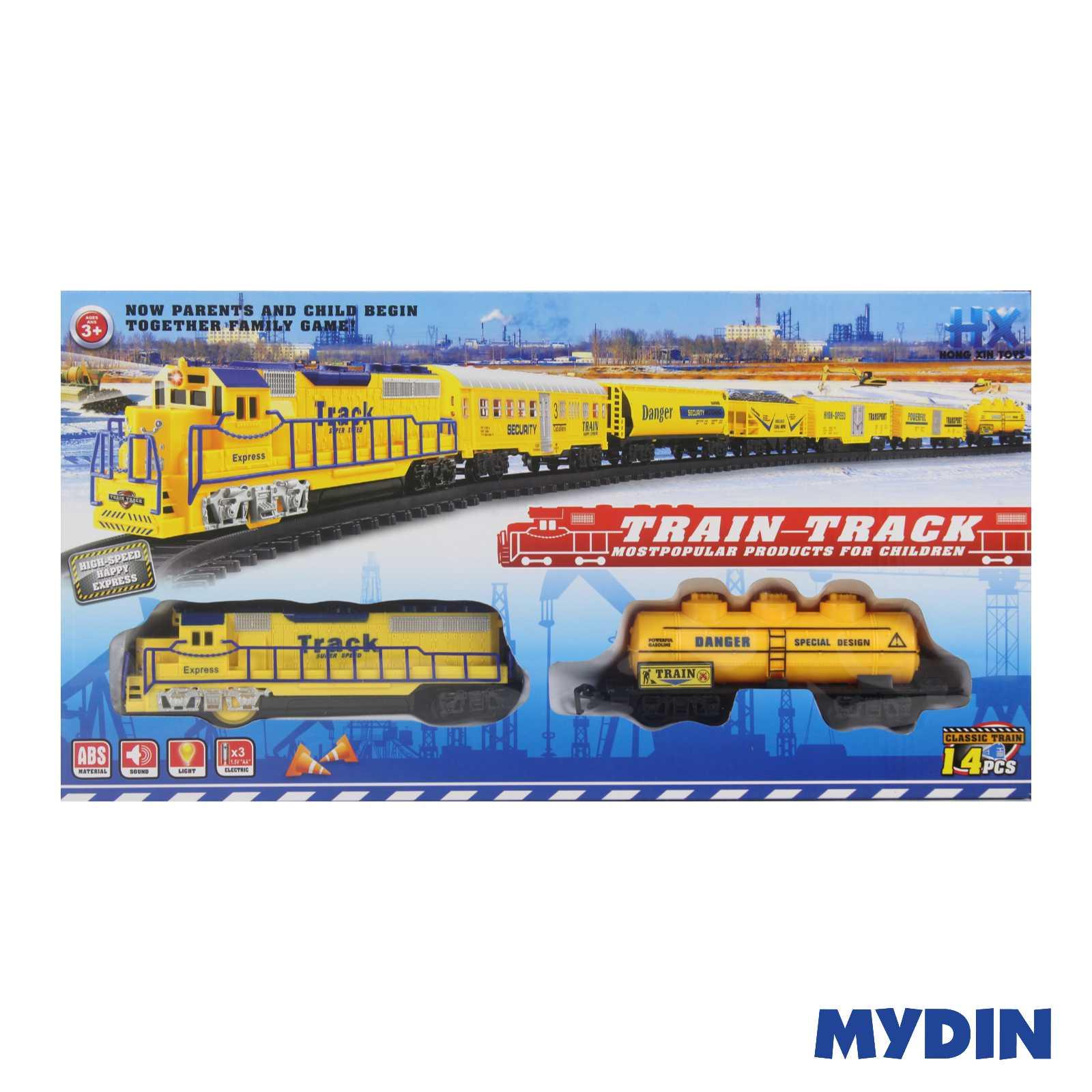 Classic Train Railway Track HX2013-12-2438