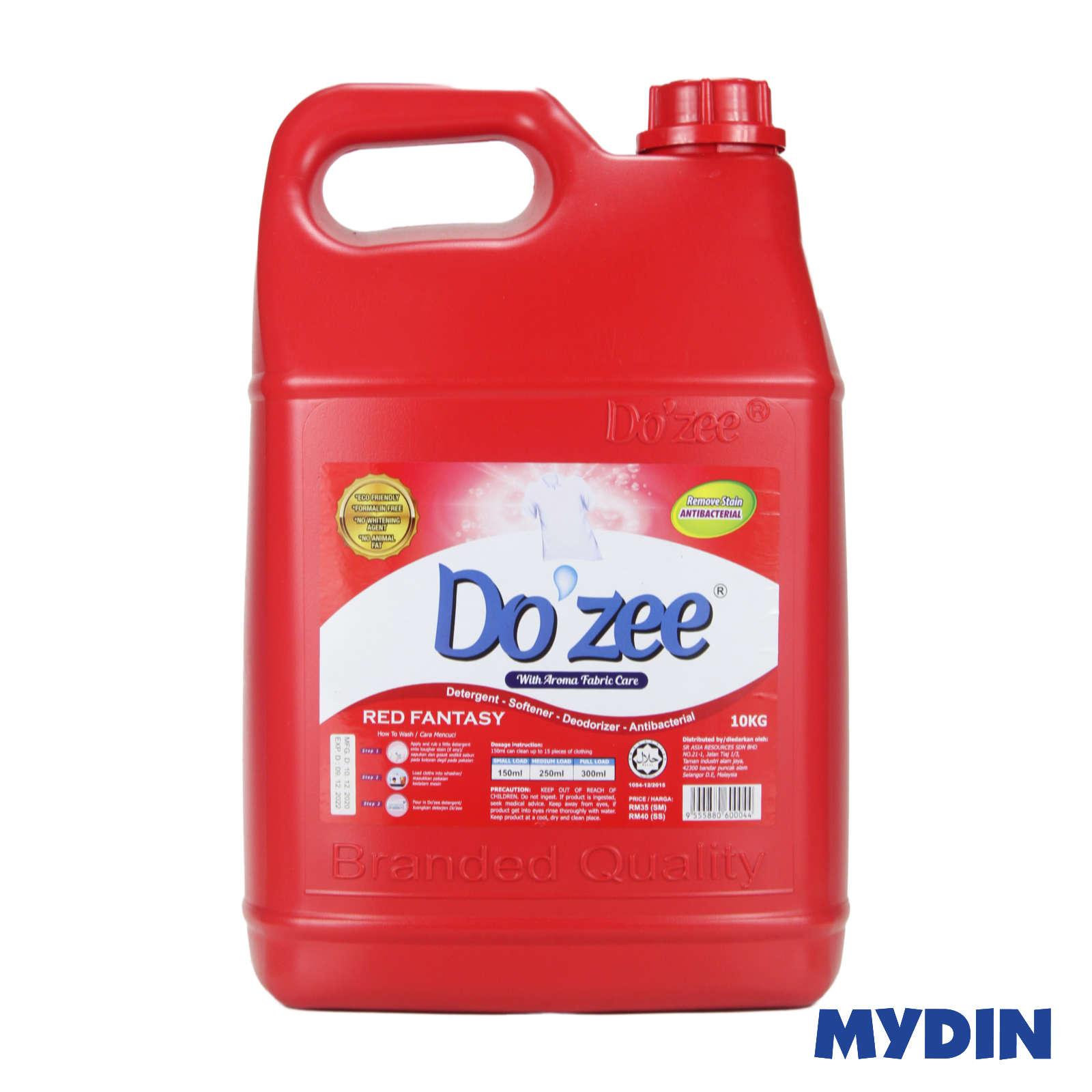 Dozee Detergent Liquid (10kg) - 2 Variants
