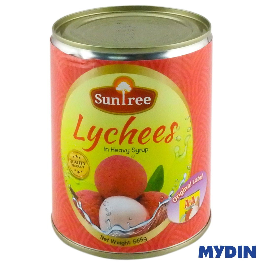 Suntree Lychee in Heavy Syrup (565g)