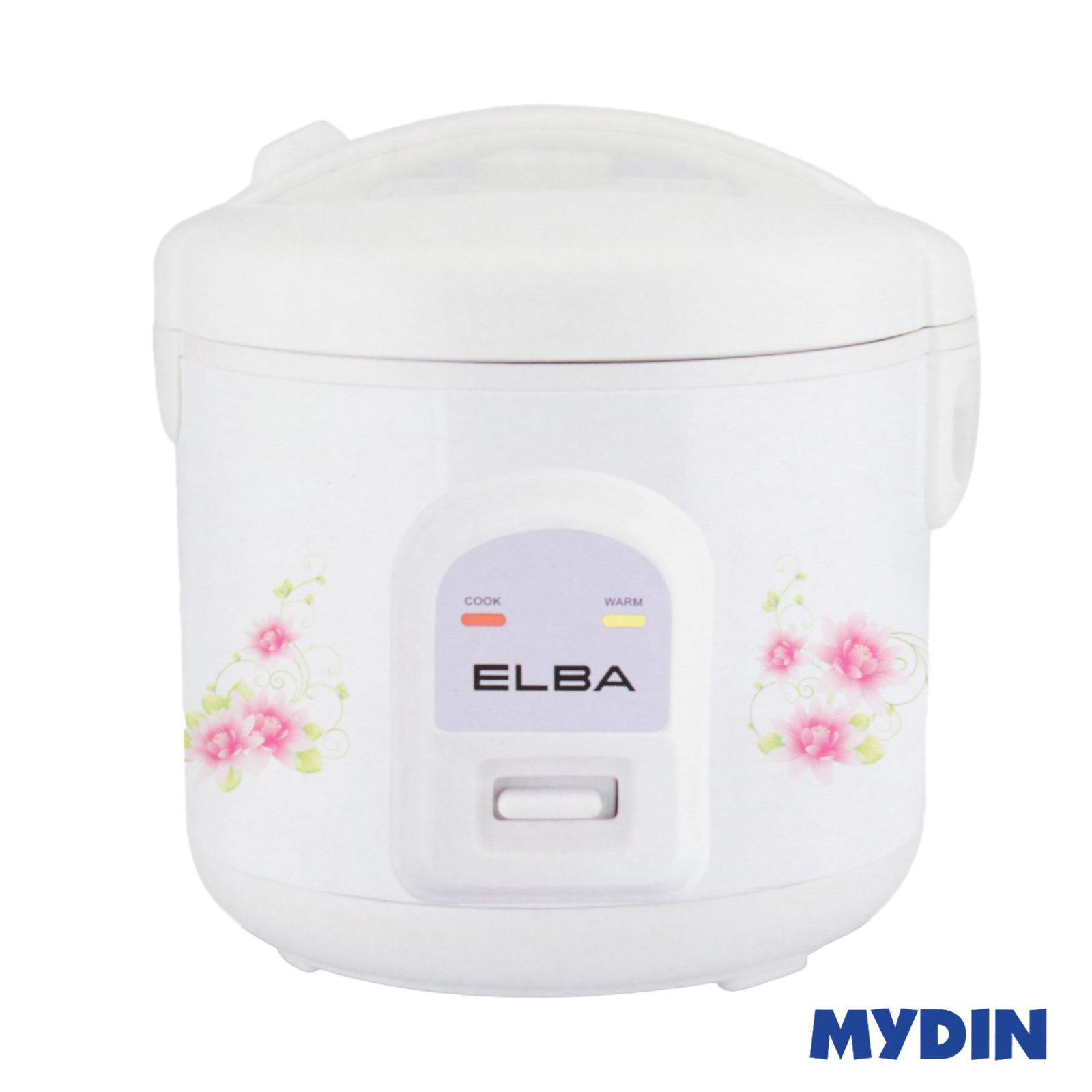 Elba Jar Rice Cooker White ERC-E1031 (1L)