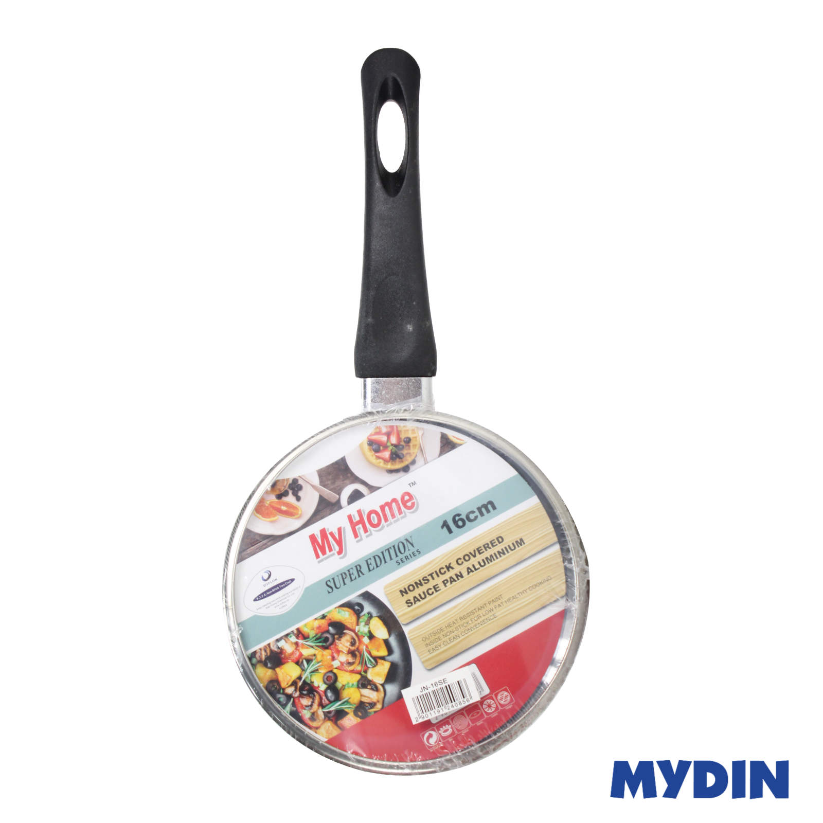 MyHome Super Edition Nonstick Covered Sauce Pan JN-16SE (16cm)