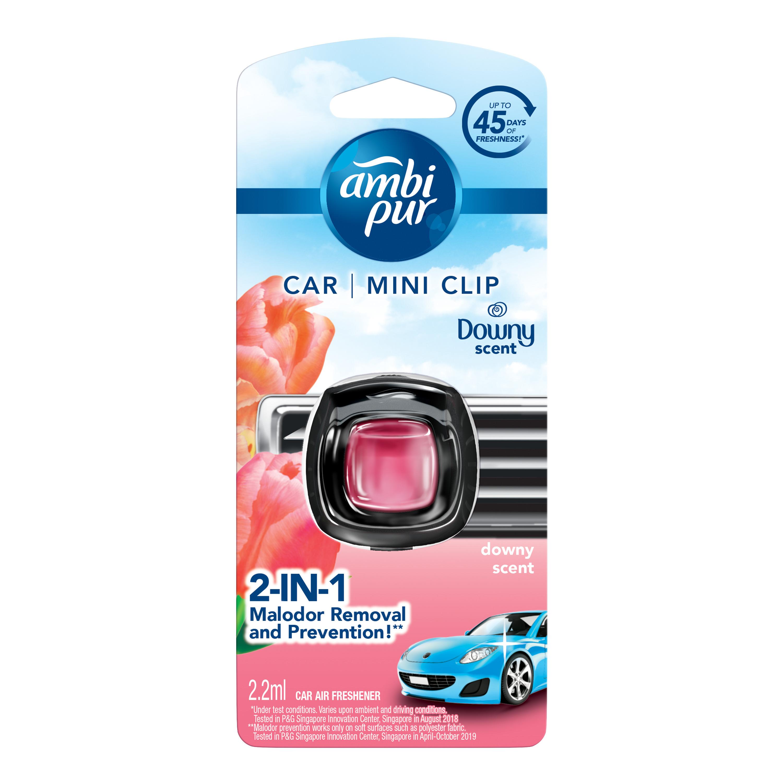 Ambi Pur Car Mini Clip Car Air Freshener 2.2ml - 6 Variants