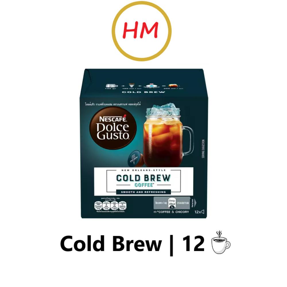 NESCAFE Dolce Gusto Cold Brew 12 Capsules