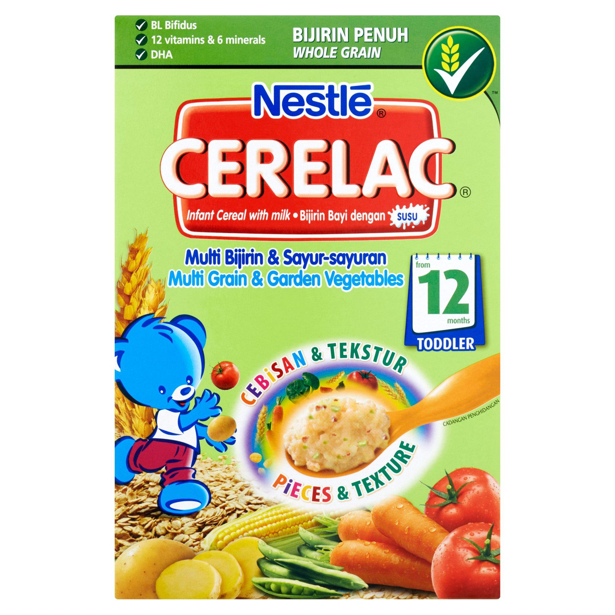 Nestle Cerelac - Multi Grain & Garden Vegetables (250g)