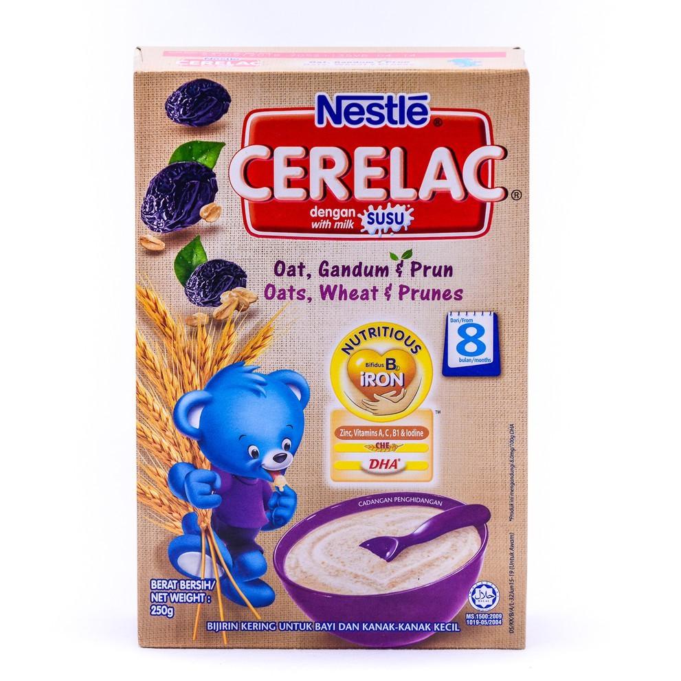 Nestle Cerelac - Oats, Wheat & Prunes (250g)