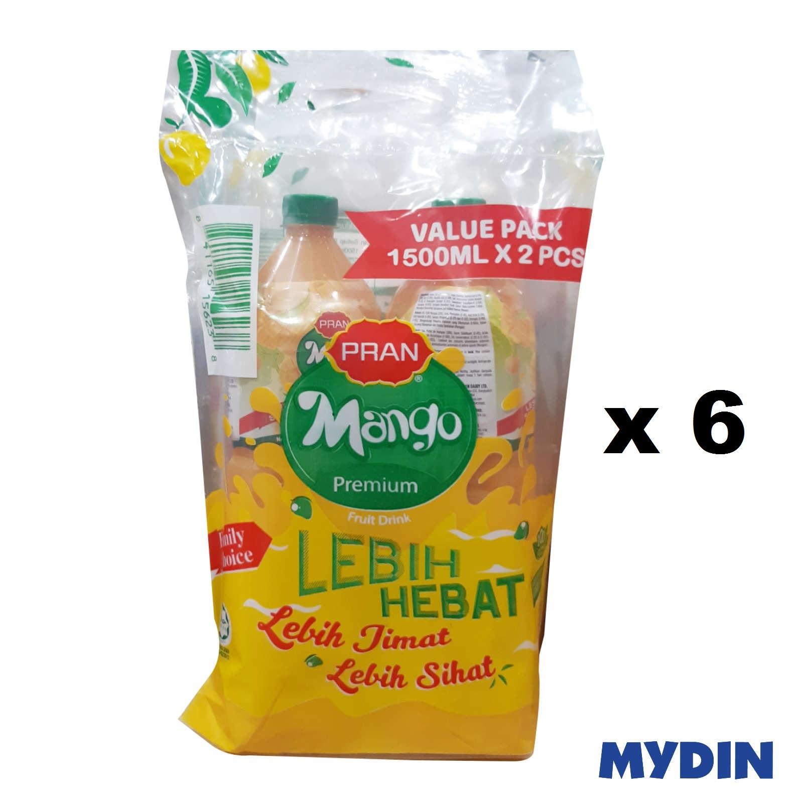 Pran Juice Mango Twinpack (1.5L x 6pcs)