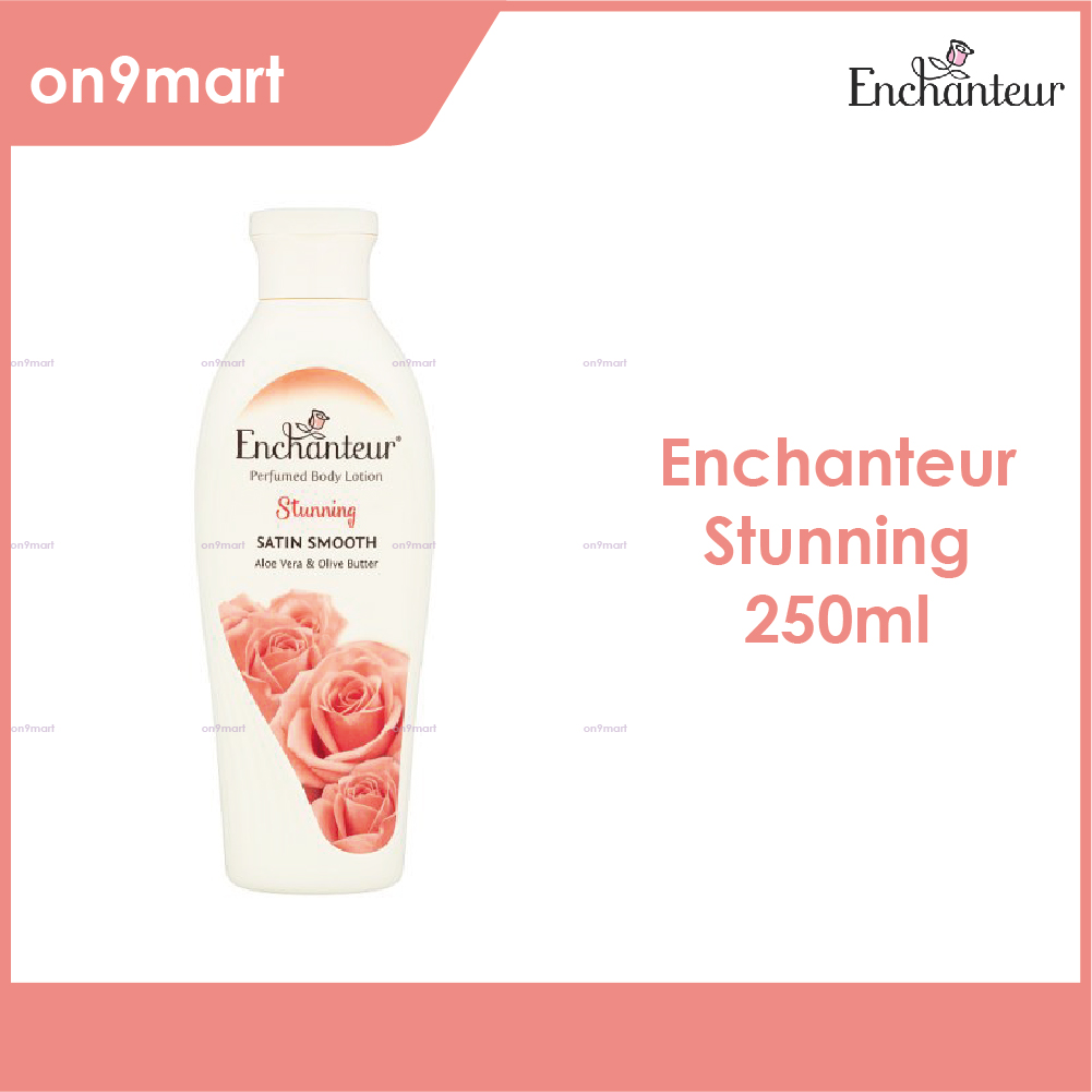 Enchanteur Body Lotion Satin Smooth Stunning 250ml