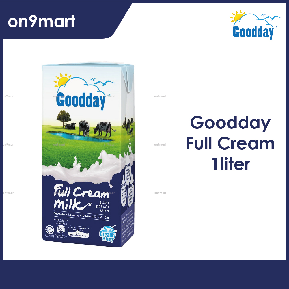 Goodday UHT Milk 1L / Susu UHT 1L Full Cream