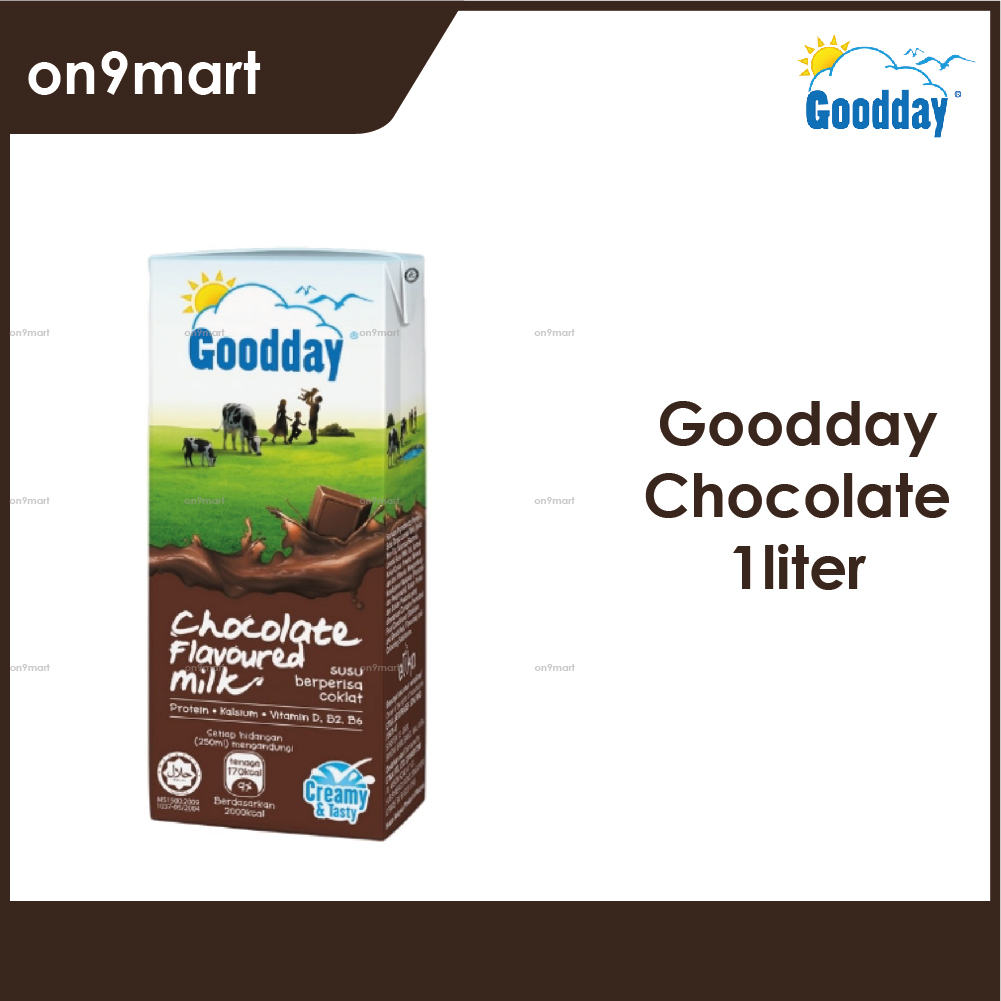 Goodday UHT Milk 1L / Susu UHT 1L Chocolate