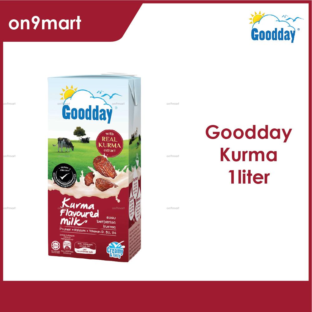 Goodday UHT Milk 1L / Susu UHT 1L Kurma