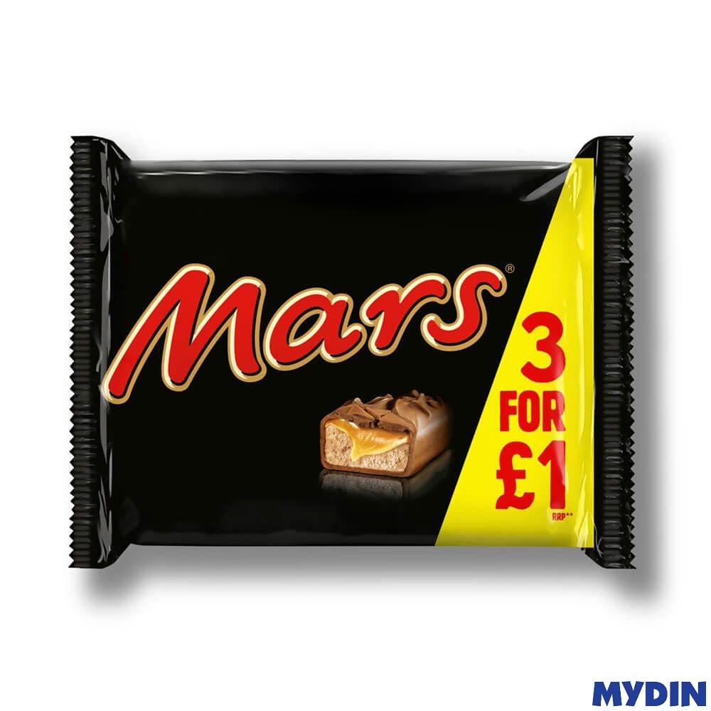 Mars Chocolate Bars Snack Size (118.2g) EXPIRY 15/8/21