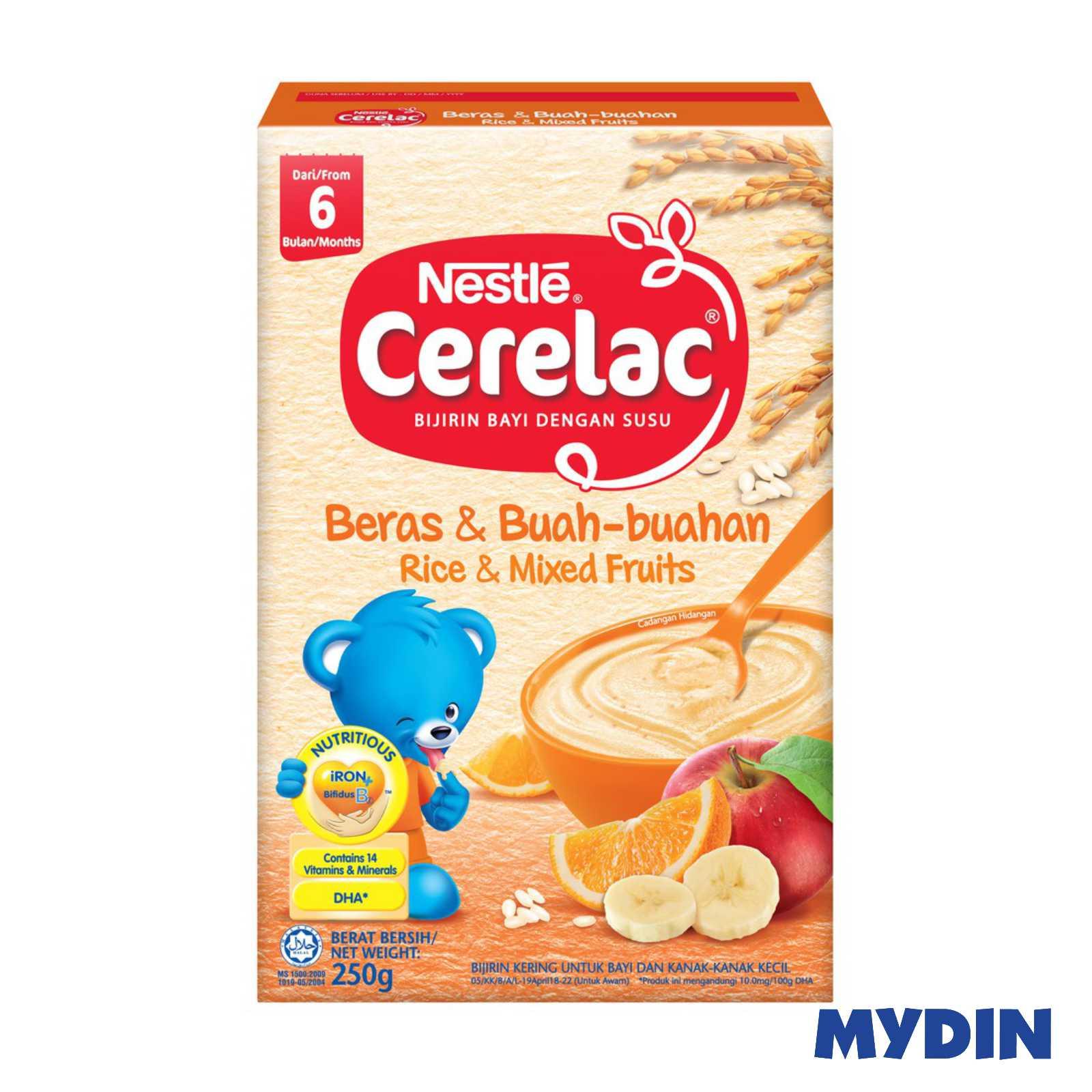 Nestle Cerelac Rice - Mix Fruit (250g)