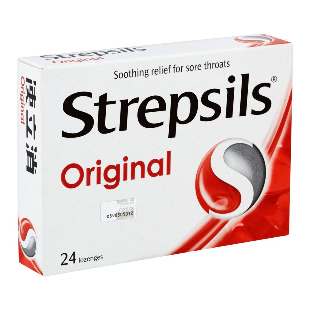 Strepsils Sore Throats 24 Lozenges 12g - 3 Variants