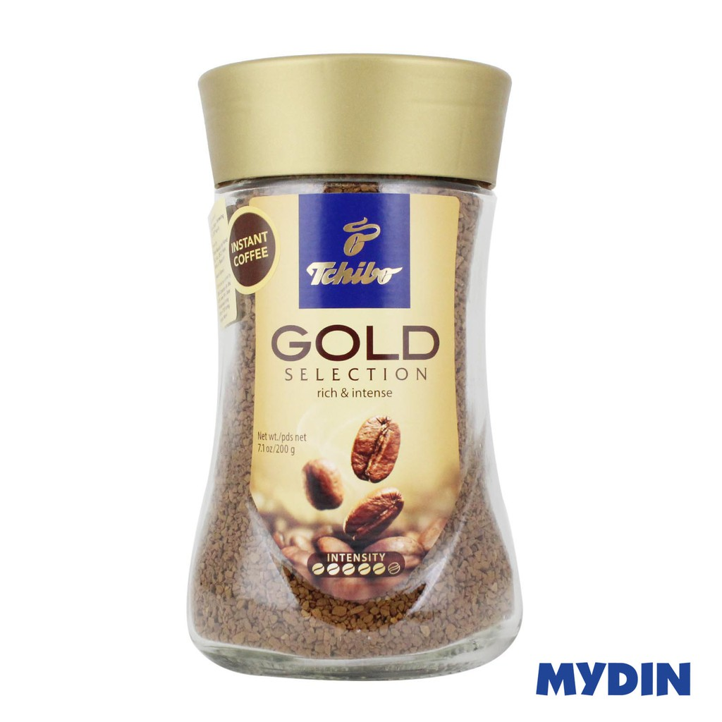 Tchibo Gold Selection Instant Coffee 200g