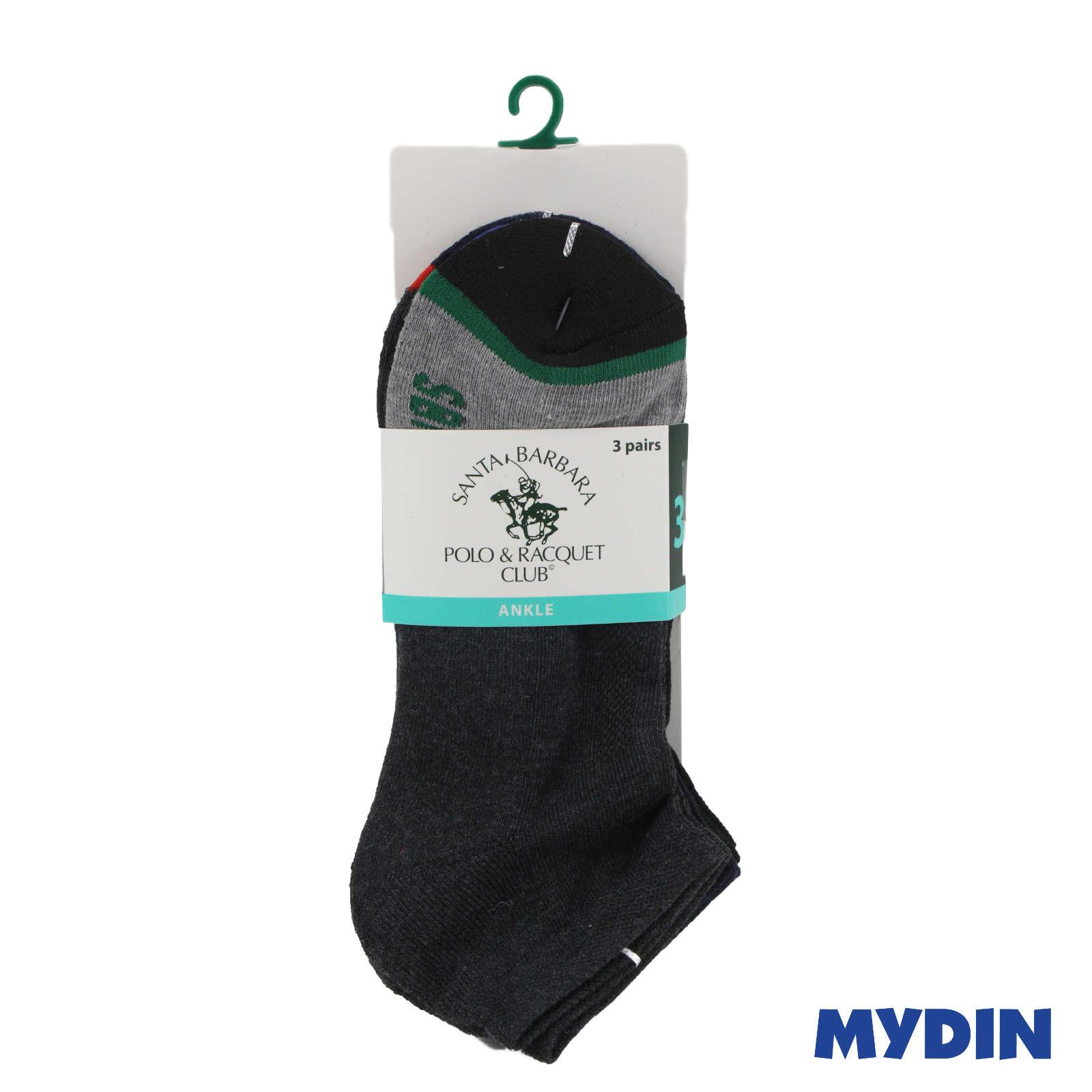 Santa Barbara Polo & Racquet Club Men Socks SBB2002-3 (3s) - Ankle