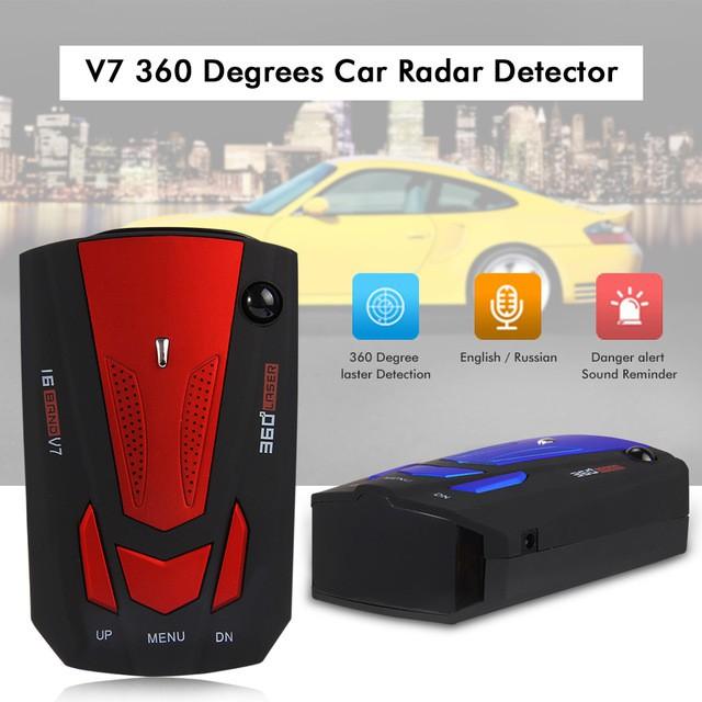 Radar Vehicle Speed Detector Mobile Radar Speedometer Car Electronic Gog