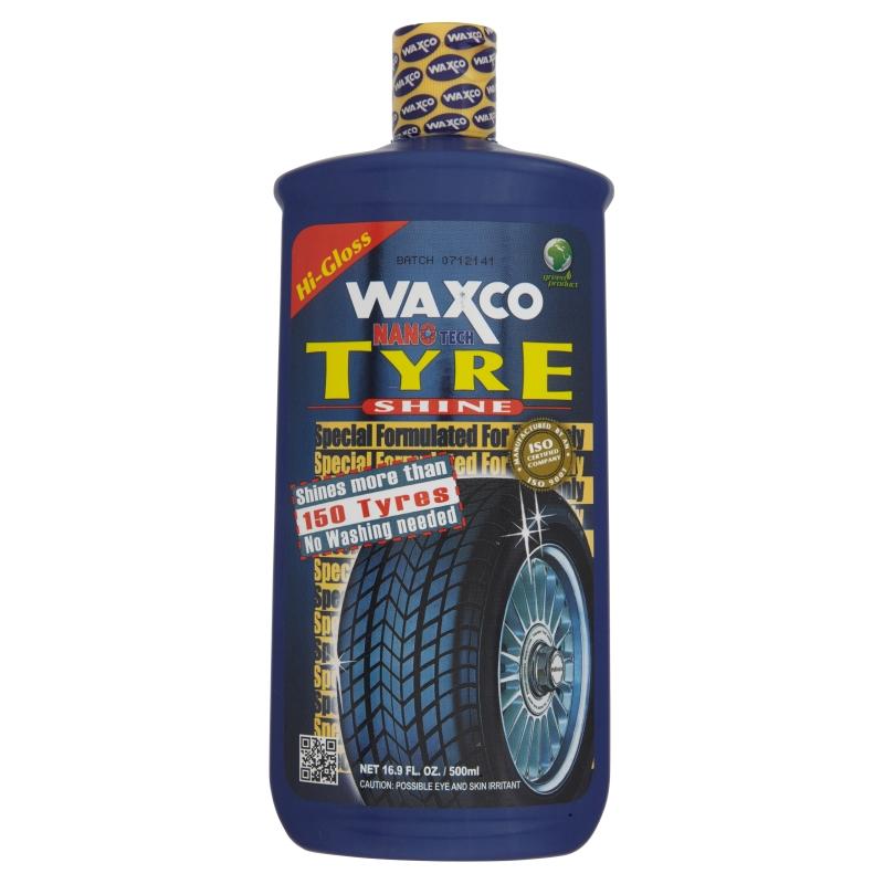 Waxco Nano Tech Tyre Shine (500ml)
