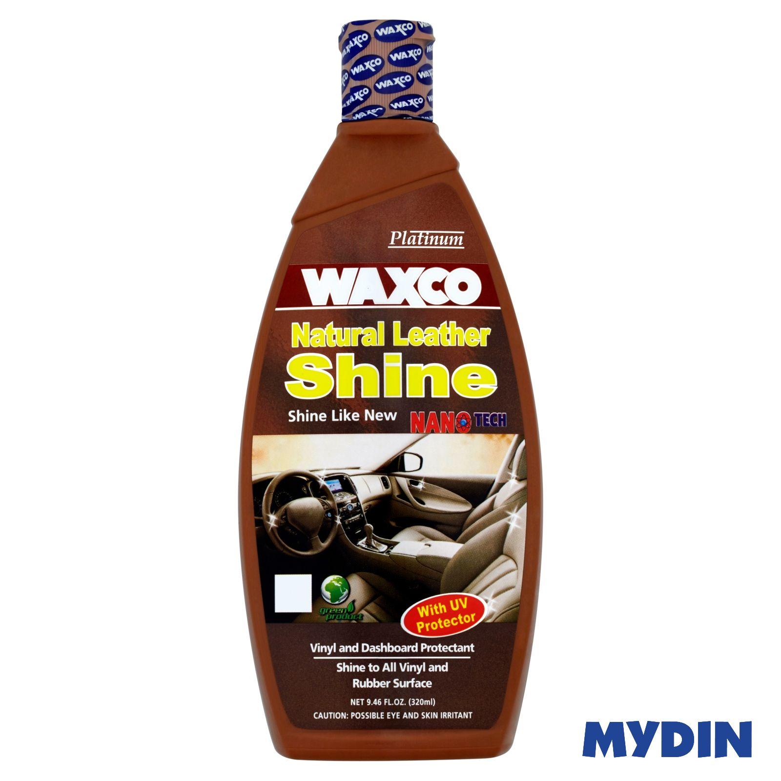 Waxco Platinum Natural Leather Shine (320ml)